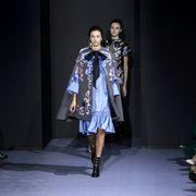 Footwear, Leg, Fashion show, Style, Runway, Fashion model, Fashion, Youth, Costume design, Model,