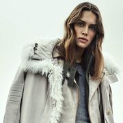 Clothing, Jacket, Sleeve, Textile, Outerwear, Fur clothing, Coat, Style, Street fashion, Collar,