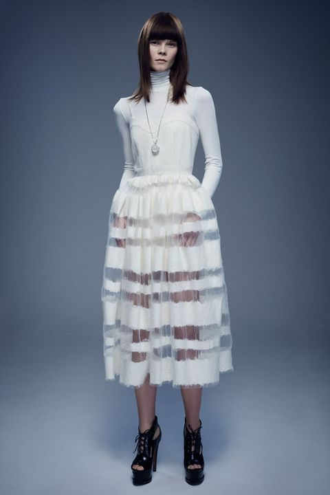 Clothing, Product, Sleeve, Shoulder, Human leg, Dress, Joint, White, Standing, One-piece garment,
