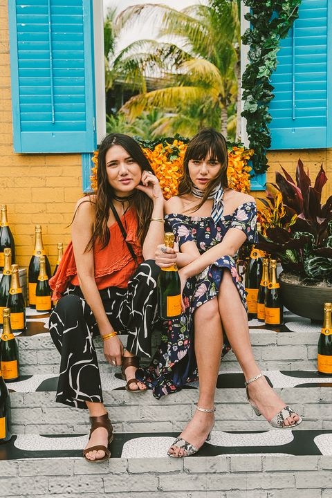 <p>At the Second Annual Veuve Clicquot Carnaval in Museum Park, Miami, on February 20, 2016.</p>