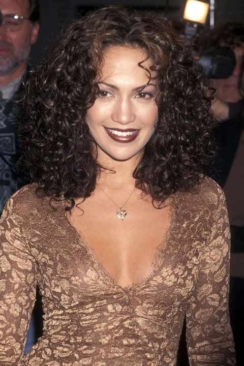 """WESTWOOD,CA - APRIL 7:   Actress Jennifer Lopez attends the """"Anaconda"""" Westwood Premiere on April 7, 1997 at Mann Village Theatre in Westwood, California. (photo by Ron Galella, Ltd./WireImage)"""