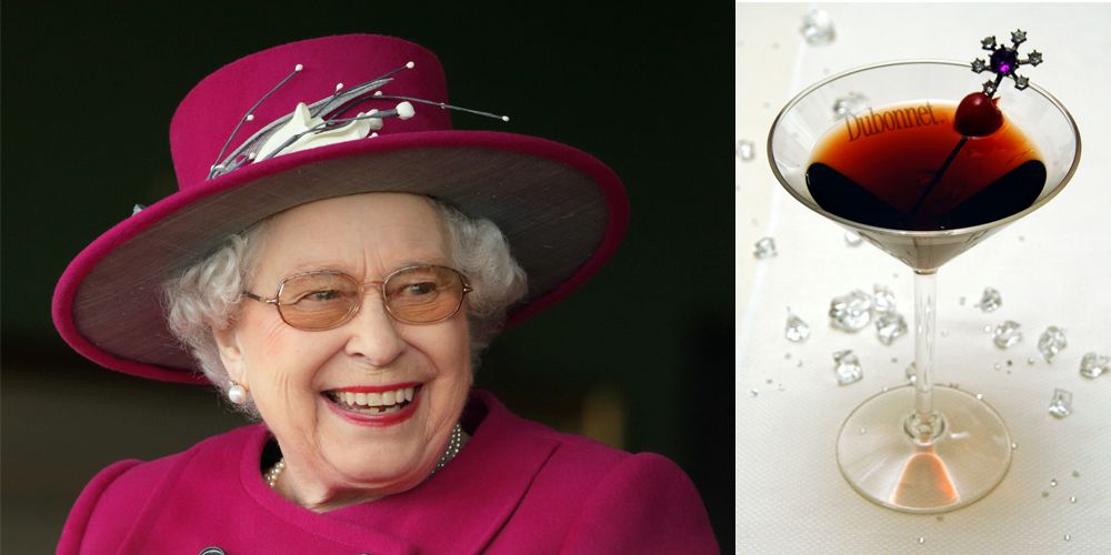 <p>Just before lunch, the Queen drinks a glass of gin mixed with fortified wine Dubonnet, garnished with a slice of lemon. According to her cousin, Margaret Rhodes, she takes wine with lunch and indulges in a dry Martini and a glass of champagne in the evening. </p>