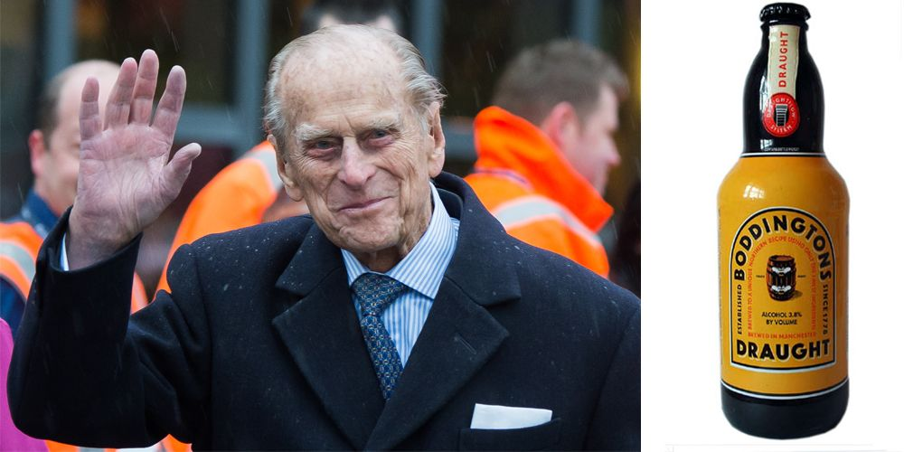 <p>The Duke of Edinburgh's preferred drink is refreshingly simple–a Boddingtons beer. </p>