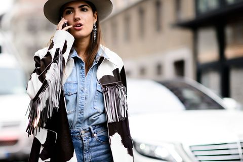 Clothing, Hat, Sleeve, Shirt, Denim, Outerwear, Jacket, Jeans, Grille, Style,
