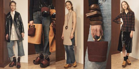 Brown, Trousers, Denim, Textile, Jeans, Outerwear, Bag, Fashion accessory, Fashion, Luggage and bags,