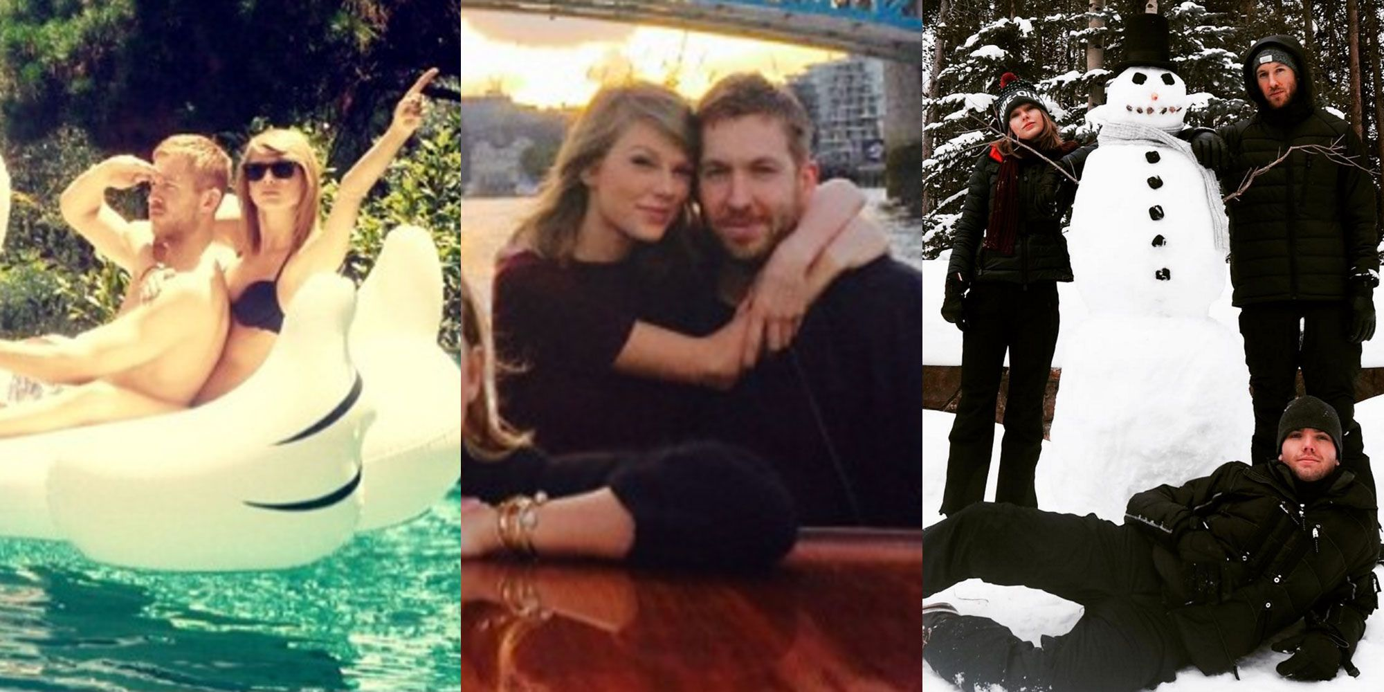 Taylor Swift And Calvin Harris S Relationship Instagrams History Of Taylor Swift And Calvin Harris S Relationship