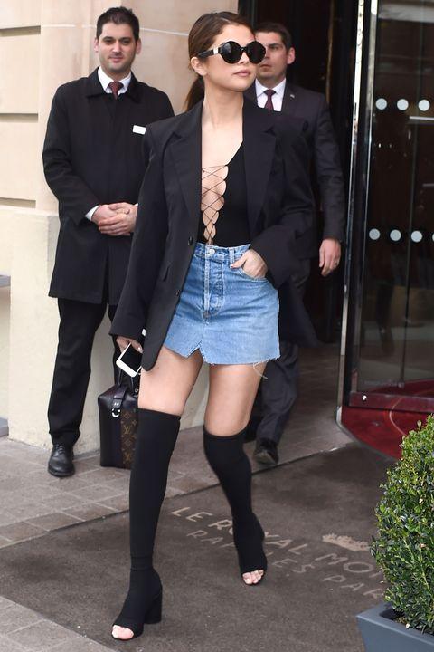 Selena Gomez Wears 9 Outfits In 3 Days In Paris Selena Gomez Does