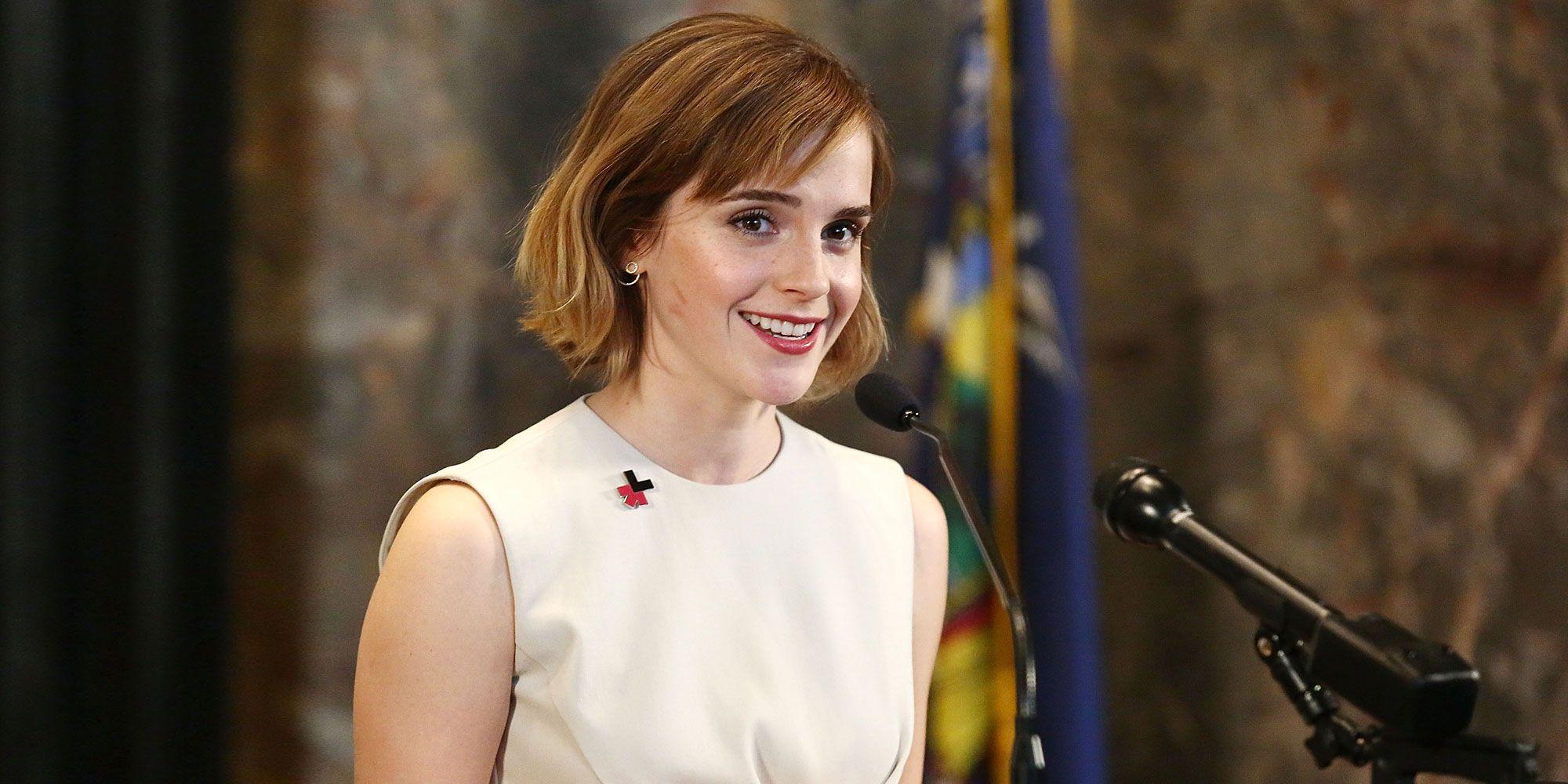 Emma Watson On The Tabloids Emma Watson Introduces Heforshe S Arts Week