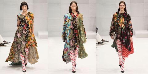 Sleeve, Pattern, Textile, Dress, Style, Fashion model, Formal wear, One-piece garment, Fashion, Street fashion,