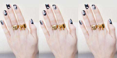 The Polish Pro Inventing 'Tomboy' Nail Art
