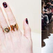 Finger, Skin, Nail, Fashion accessory, Nail care, Style, Dress, Waist, Nail polish, Fashion,
