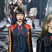 Street fashion, Fashion, Jewellery, Leather, Fashion design, Fashion model, Makeover, Hair coloring, Costume design,