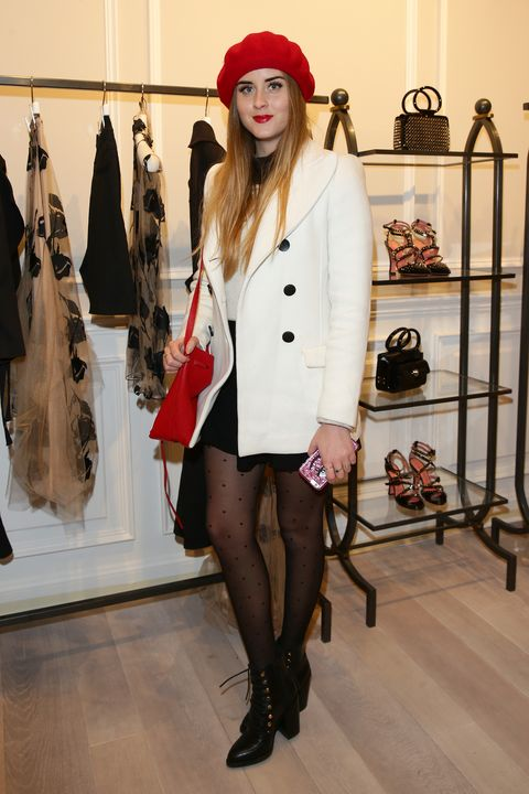 <p>At the Blumarine Store Opening Cocktail in Paris on March 5, 2016. </p>