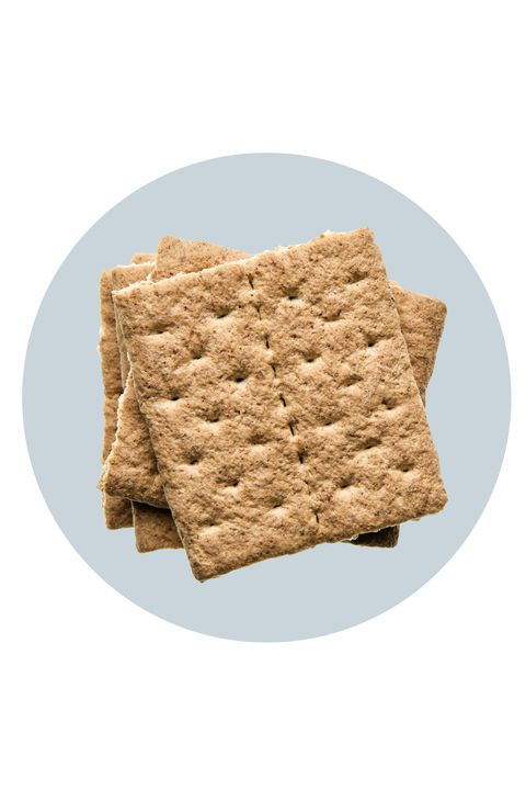 """<p>Try Batayneh's easy recipe for a graham """"dippers"""" for a sweet, yet filling, snack. Spread 1/4 cup of low-fat ricotta cheese on top of one graham cracker and sprinkle with cinnamon. With only 115 calories and 4 grams of fat, this snack has 8 grams of <a href=""""http://www.redbookmag.com/body/healthy-eating/recipes/g660/protein-breakfast-foods/"""" target=""""_blank"""">protein</a> to help you <a href=""""http://www.redbookmag.com/body/healthy-eating/advice/g574/25-lazy-health-tips/"""" target=""""_blank"""">stay fuller</a>, longer.</p>"""