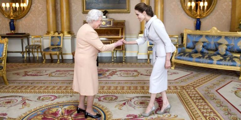 What 32 Celebrities Wore to Meet the Queen