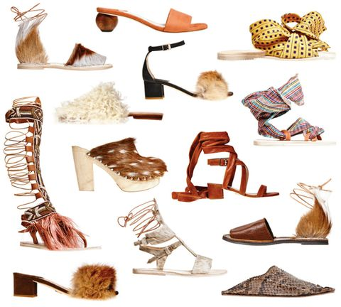 "<p>""Everybody wants to be special and feel unique–shoes should play a part in this,"" says Aurora James, creative director of Brother Vellies. Known originally for its furry desert boots, the label has evolved to include feather-trimmed gladiators, wooden-heeled beauties, and it-shoe babouches in denim and shearling. <span class=""redactor-invisible-space"">""</span>Gone are the days where we all march around in the same indistinguishable styles,"" James says of her statement-making shoes. Her inspiring use of texture even claims Kanye as a fan; the rapper surprised everyone by attending the Brother Vellies presentation last fall, putting Brother Vellies more firmly in the spotlight. </p><p><a href=""http://www.brothervellies.com/site/"" target=""_blank"">See more from Brother Vellies.</a></p>"