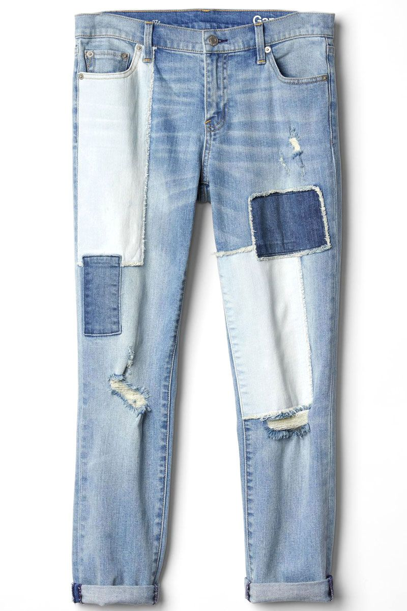 "<p>Gap Authentic 1969 Patchwork Best Girlfriend Jeans, $90; <a href=""http://www.gap.com/browse/product.do?cid=1048557&vid=1&pid=126076002"" target=""_blank"">gap.com</a></p>"