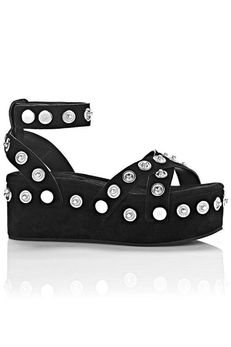 """<p>Alexander Wang Sandrah Suede Flatform, $595&#x3B; <a href=""""http://www.alexanderwang.com/us/shop/women/shoes-heels-sandrah-suede-flatform_cod11011090xa.html"""" target=""""_blank"""">alexanderwang.com</a></p>"""