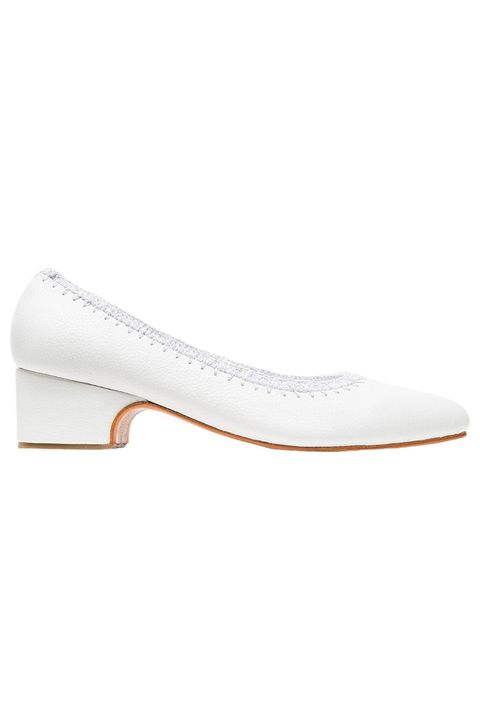 Brown, White, Tan, Natural material, Beige, Ivory, Leather, Fashion design, Silver, Ballet flat,