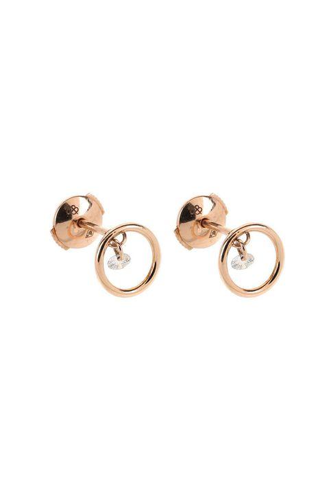 Metal, Circle, Earrings, Beige, Body jewelry, Brass, Silver, Ring, Wedding ceremony supply, Bronze,