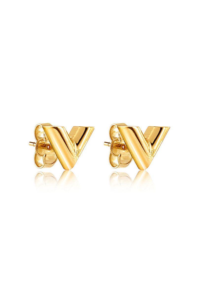 Louis Vuitton Earrings Ear Studs Diamond Clous