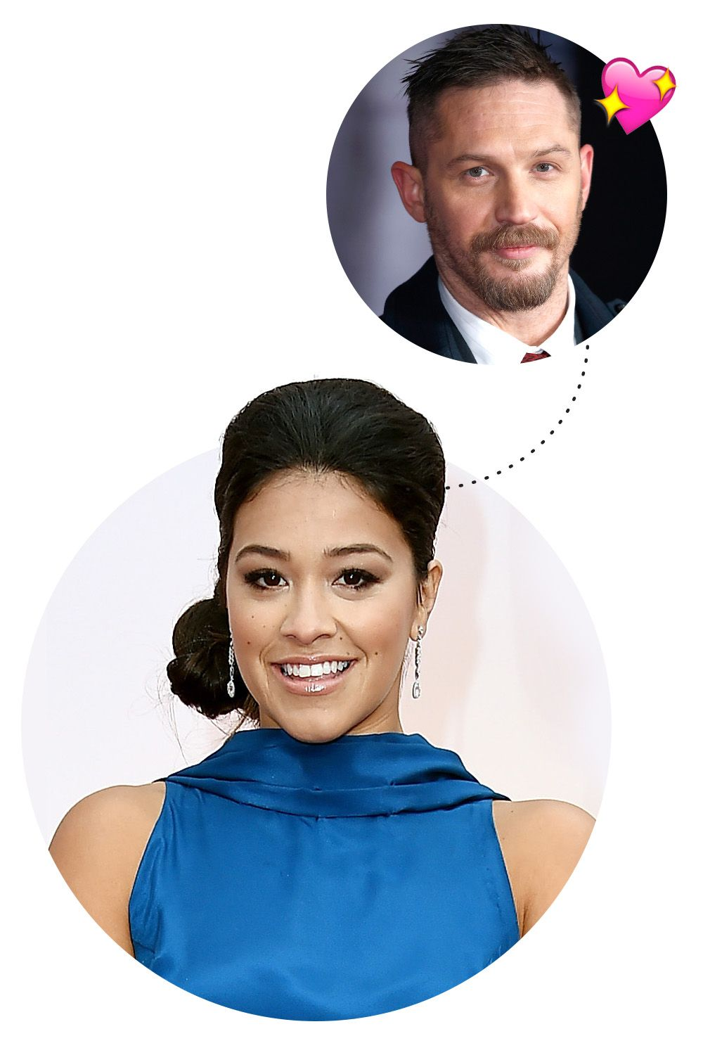 """<p>""""Tom Hardy. He's gorgeous and probably easily one of the best actors...I remember watching Tom Hardy in a short film like ten years ago. He was just divine. He's<em> so </em>divine and he's a phenomenal actor. To couple those two is a rarity. He's like a unicorn."""" </p>"""