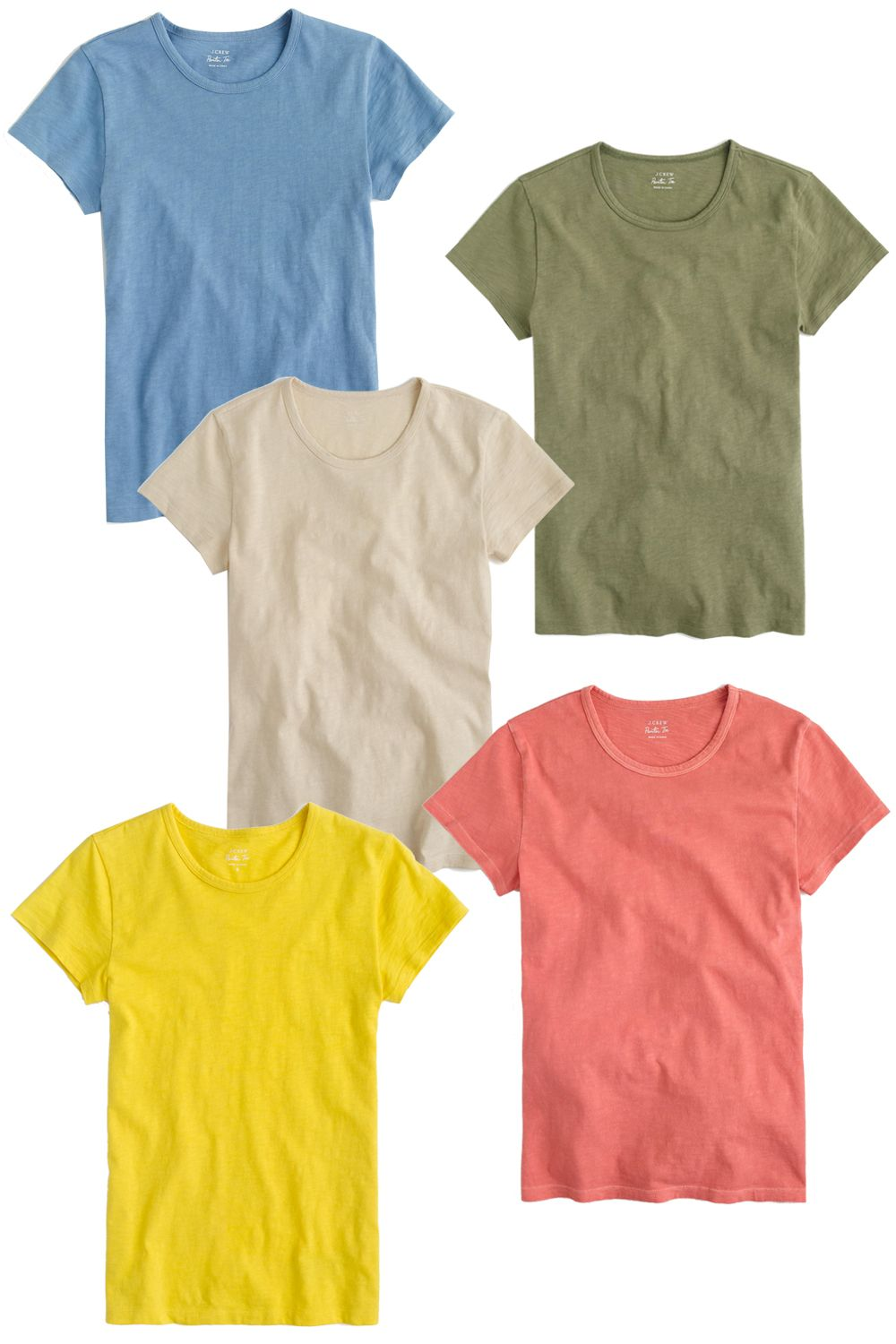 "<p>It's perfect! –Samira Nasr, Fashion Director<span></span></p><p><em>J.Crew Short Sleeve Painter T-Shirt, $25; </em><a href=""https://www.jcrew.com/womens_category/knitstees/shortsleevetees/PRDOVR~C5575/C5575.jsp?color_name=Spiced-Orange&srcCode=GGBS00006_99104256414_200317638_15965730078_18283950120_c_pla&sisearchengine=197&siproduct=C5575&noPopUp=true&source=googlePLA&gclid=CPS16vC_yMsCFZQbgQodIzYNBQ&gclsrc=aw.ds""><em>jcrew.com</em></a></p>"