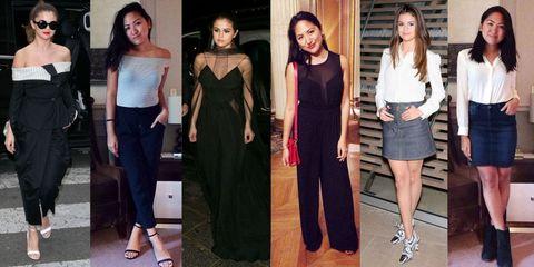 Clothing, Footwear, Leg, Shoulder, Style, Waist, Formal wear, Dress, Fashion, Youth,