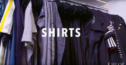 Khloe Kardashian Fitness Closet Short Sleeve Tops