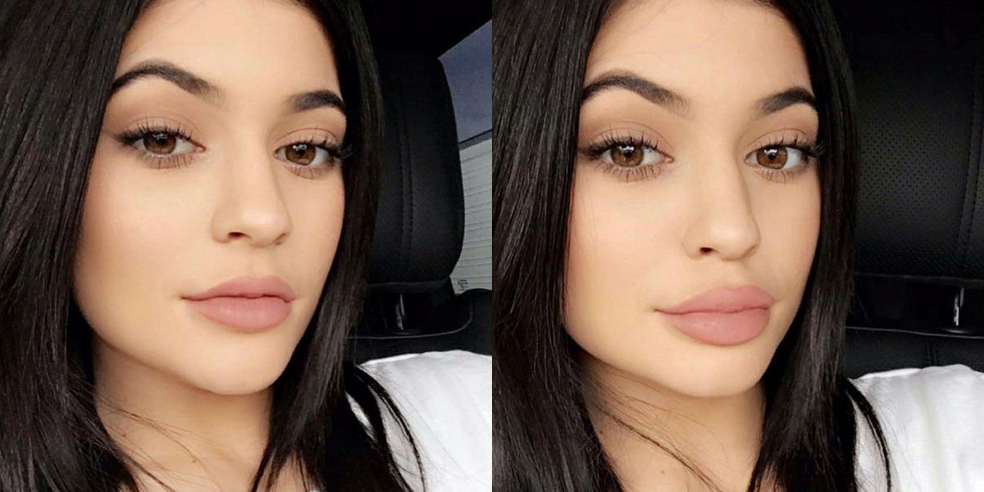 Kylie Jenner Big Lip Camera Trick Kylie Jenner Reveals Injection Free Hack To Fuller Lips