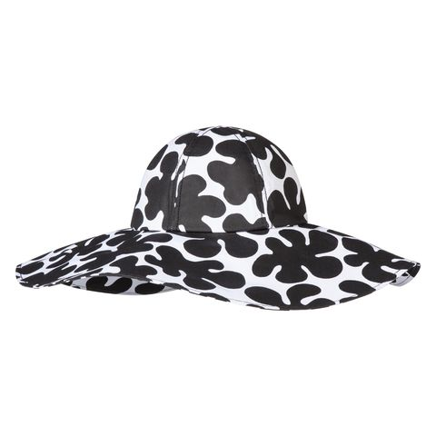 Pattern, Style, Headgear, Costume accessory, Costume hat, Art, Costume, Black-and-white, Polka dot, Illustration,