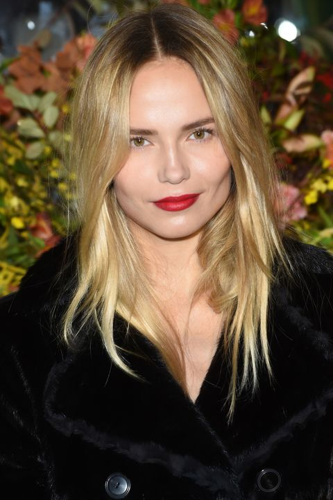"<p>Whether she's jetting between LA's red carpets and Paris's runways, or chasing after her two-year-old daughter Aleksandra (who followed in her model mom's famous footsteps by posing for <a href=""http://www.elle.com.au/news/zeitgeist/2015/7/fashions-tiniest-stars/aleksandra-bakker/"" target=""_blank"">Mario Testino's Towel Series</a> while still in diapers), Natasha Poly is always on the move. She skips an in-flight beauty ritual in favor of a few solid hours of shut-eye (""I just sleep!"" she laughed when asked what she does to save face on the plane), but the supermodel always pampers her skin and body after landing. Keep reading to discover the products Poly uses to get a glowy complexion, amp up her already chiseled cheekbones, and unwind once she finally reaches the hotel.</p>"