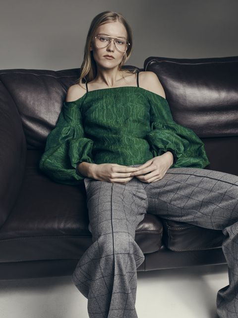 """<p>Can we be friends, Sylvie Millstein? She makes the <a href=""""http://www.hellessy.com/"""">big-sleeved, off-the-shoulder-y, neck-tied looks</a> of your 2015-to-end-date-indefinite dreams.</p>"""