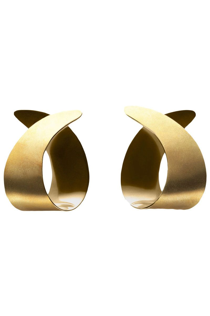 "<p>Trademark Small Curve Earrings, $148; <a href=""http://www.trade-mark.com/small-curve-earrings.html?___store=default"" target=""_blank"">trade-mark.com</a></p>"