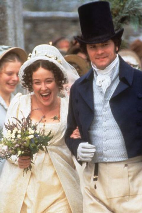 "<p><strong>Claim to fame (or infamy): </strong>Andrew Davies' script leads the wave of Austen-inspired films that sweep through the decade like a muslin skirt. Starring Jennifer Ehle as Elizabeth Bennet and Colin Firth as Mr. Darcy, this adaptation of Austen's first (and most beloved) novel charms the breeches off Jane purists and novices alike. </p><p><strong>Best scene that never happened in an Austen novel:</strong><span class=""apple-converted-space""><strong> </strong></span>Mr. Darcy goes for an impromptu dip in a lake (after a sweaty fencing lesson, mind you) and emerges in a <a href=""http://www.townandcountrymag.com/leisure/arts-and-culture/news/a5321/you-can-see-mr-darcys-white-shirt-in-person/"" target=""_blank"">clinging white shirt</a>. The scene is widely regarded as one of the greatest TV moments of all time—so we hope it won't dampen your enthusiasm to learn that it never actually happened on film, either. Colin Firth <a href=""http://time.com/62689/colin-firth-says-the-wet-pride-and-prejudice-shirt-is-a-fake/"" target=""_blank"">recently admitted</a> that the whole thing was entirely contrived. Please pass the smelling salts. </p><p><strong>Wittiest line/exchange: </strong>Elizabeth:<span class=""apple-converted-space"" style=""line-height: 1.6em; background-color: initial;""><strong> </strong></span>""And your defect is a propensity to hate everybody."" Darcy: ""And yours is willfully to misunderstand them."" And that, dear presidential candidates, is how insults are done.</p>"