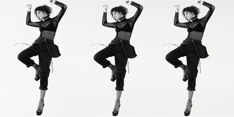 Leg, Style, Dancer, Pattern, Fashion, Youth, Knee, Art, Black-and-white, Hip-hop dance,