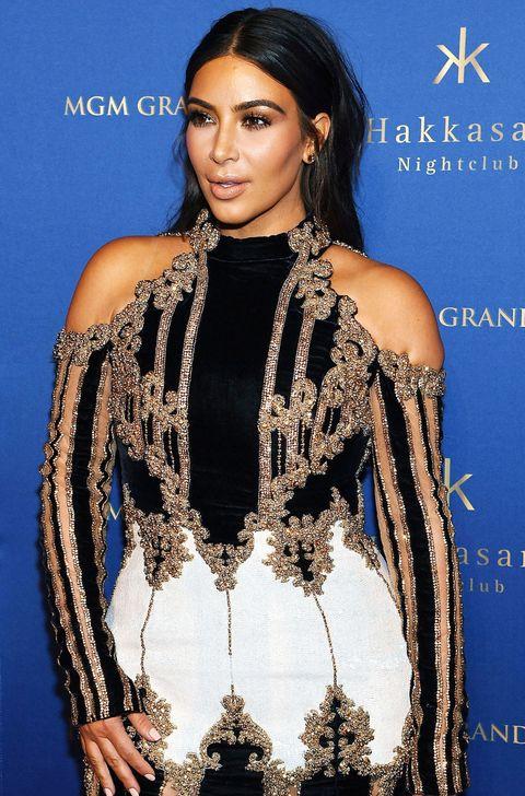 Kim Kardashian's Outfit Last Night Was the Stuff of Legends