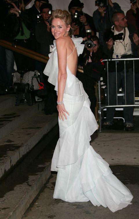 <p>At the MET Costume Institute Gala Celebrating Chanel at the Metropolitan Museum of Art, May 2, 2005.</p>