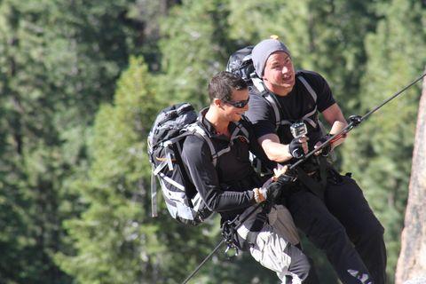 Recreation, Outdoor recreation, Adventure, Windsports, Air sports, Rope, Rock-climbing equipment, Bungee cord, Extreme sport, Glove,