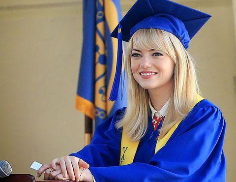 Gwen Stacy graduates.