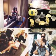 Celebrities with breast pumps