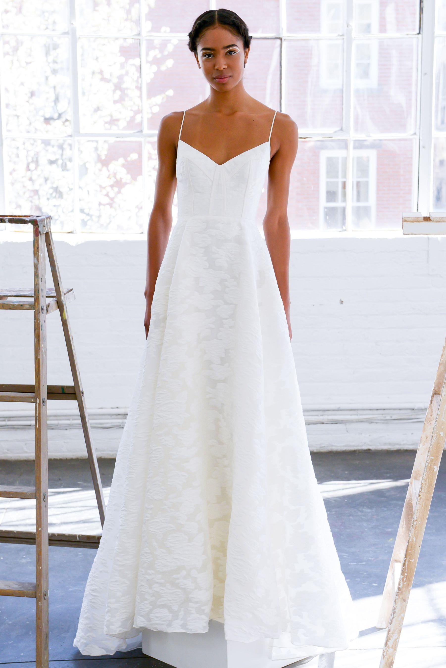 19 Simple (Yet Stunning) Dresses From Spring 2017 Bridal Week ...