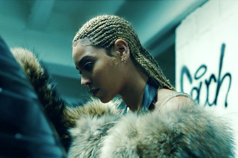 "<p>Lemonade opens with ""Don't Hurt Yourself."" Beyoncé leans against a car, her hair styled in tight cornrows. The style went with the mood of the song. ""Cornrows can be tough; baby hair softens it up a lot,"" Kim explains. ""I like finished edges. Cornrows, braids and we love baby hair.""</p>"