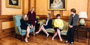 Working moms at the White House