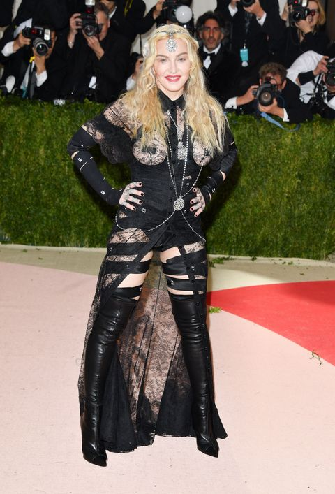 """Madonna Says Her Met Gala Outfit Was a """"Political Statement"""""""