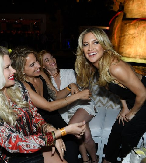 <p>At the grand opening of Intrigue nightclub at Wynn Las Vegas on April 29, 2016. </p>