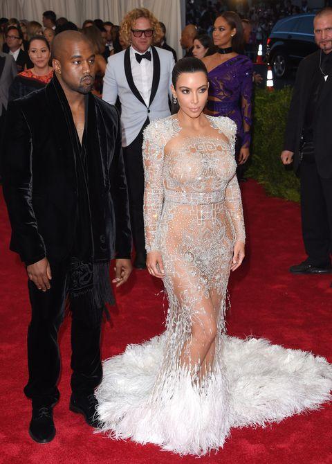 Kylie Jenner in Kim Kardashian-Like Silver Gown at the 2016 Met Gala