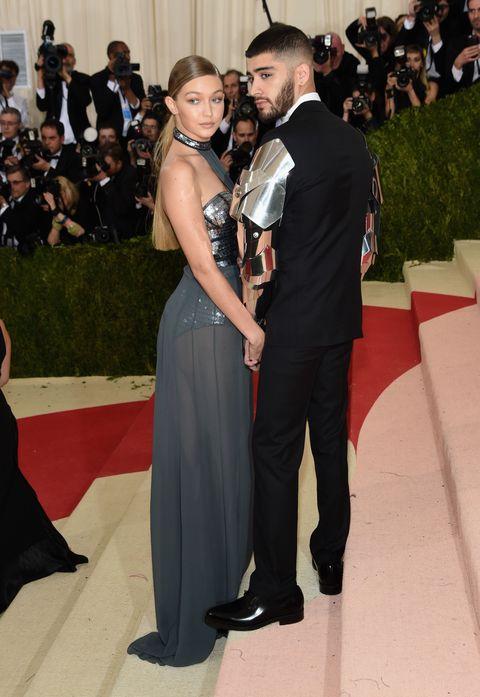 Zayn Malik Brought His Robo Arms To The Met Gala