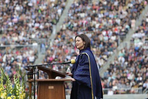 Addressing Graduates, Sheryl Sandberg Reflects on the Lessons that Grief Teaches