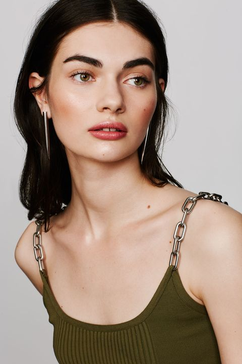 "<p>A dagger-like style gives any look a dose of hard edge cool. </p><p><br></p><p><br></p><p>Eddie Borgo Spike Drop Earrings, $175, <a href=""http://shop.nordstrom.com/s/eddie-borgo-spike-drop-earrings/4243985?&cm_mmc=Mindshare_Nordstrom-_-MayCorp-_-Hearst-_-proactive"" target=""_blank"">nordstrom.com</a>; Alexander Wang Runway Bike Chain Bra Top, $375, <a href=""http://www.alexanderwang.com/us/shop/women/tops-top-runway-bike-chain-bra-top_cod37848638xe.html"" target=""_blank"">alexanderwang.com</a></p>"